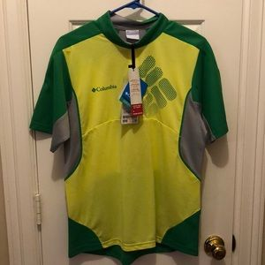 NWT Columbia running/cycling shirt size large